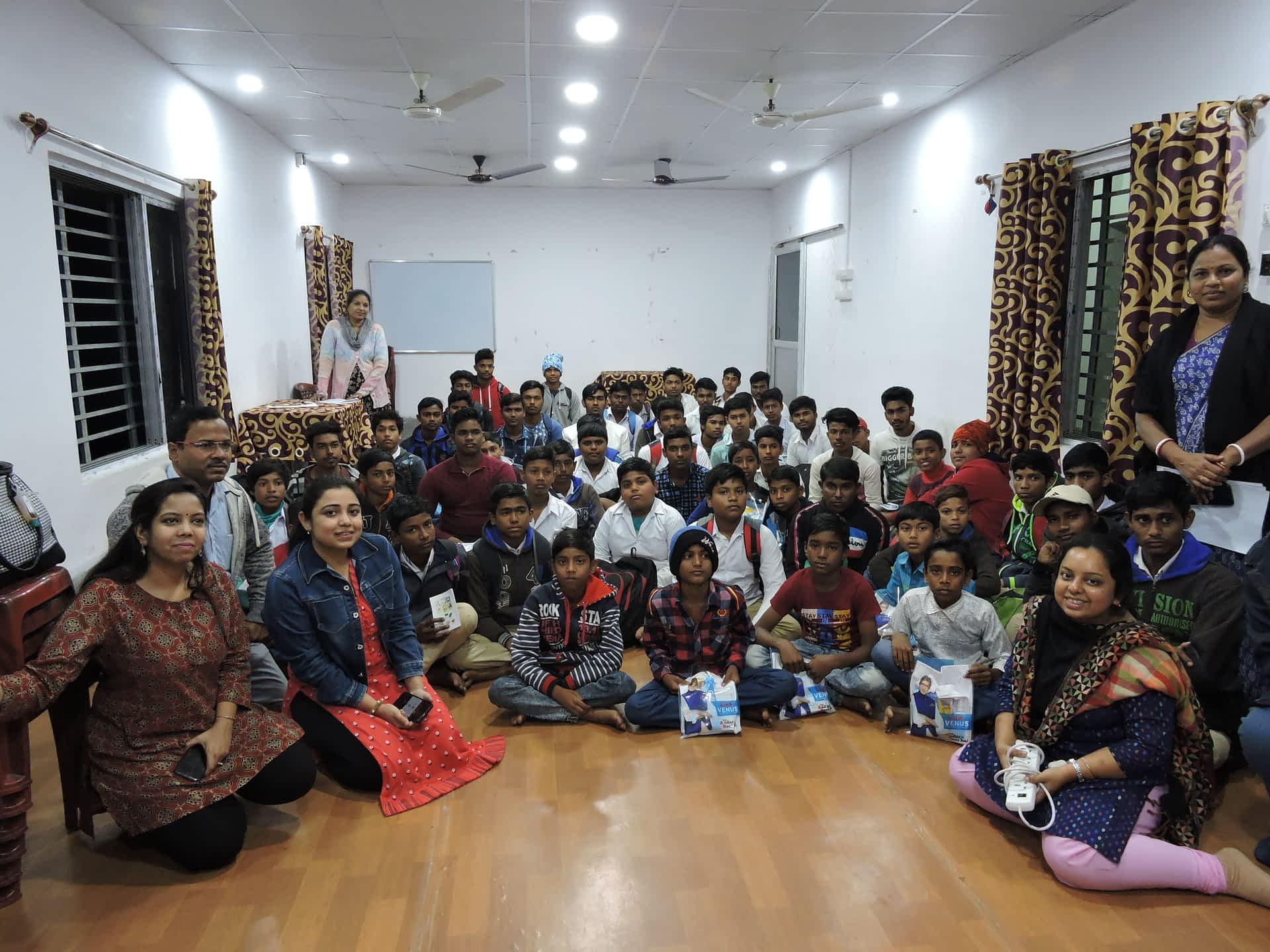 Suraksha- Talking periods with bright young men of Tiyas School